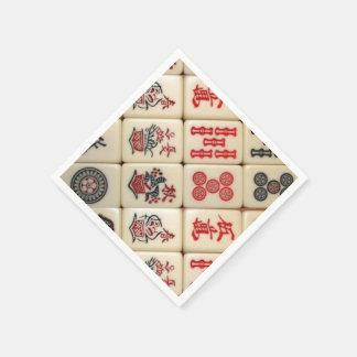 Oriental expression napkin