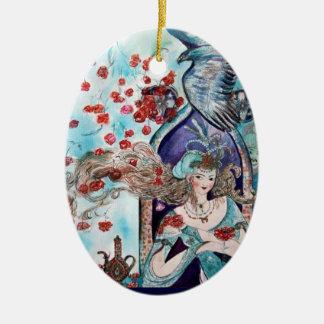 ORIENTAL FAIRY TALE Blue Sapphire Ornaments