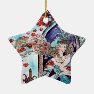 ORIENTAL FAIRY TALE Blue Sapphire Star Ornament