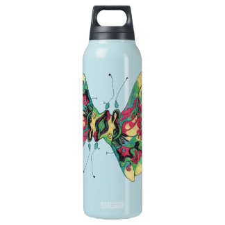 Oriental Fighting Fish Insulated Water Bottle