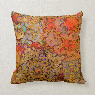 """Oriental Flare"" Throw Pillow"