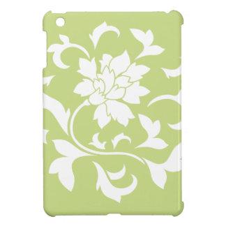 Oriental Flower - Daiquiri Green Circular Pattern Case For The iPad Mini