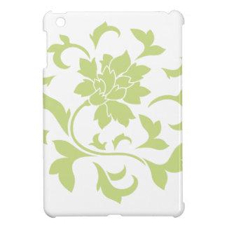 Oriental Flower - Daiquiri Green Circular Pattern Cover For The iPad Mini