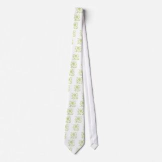 Oriental Flower - Daiquiri Green Neck Tie