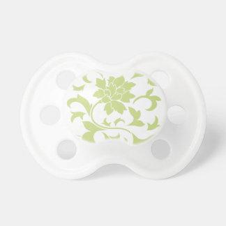 Oriental Flower - Daiquiri Green Pacifier