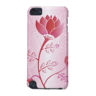 Oriental Flower in Shades of Pink iPod Touch (5th Generation) Covers