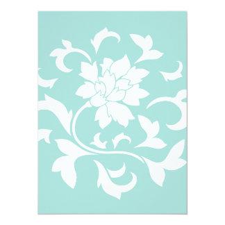 Oriental Flower - Limpet Shell Card