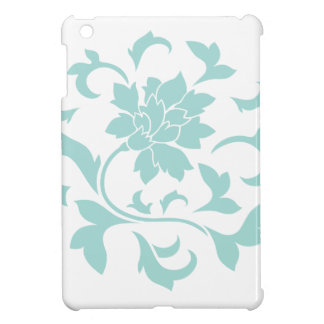 Oriental Flower - Limpet Shell Circular Pattern Case For The iPad Mini