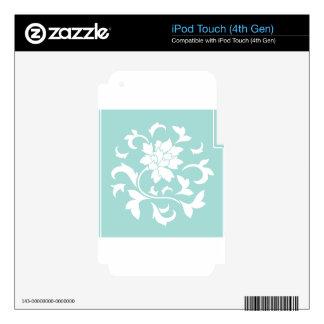 Oriental Flower - Limpet Shell Circular Pattern iPod Touch 4G Skin