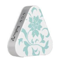 Oriental Flower - Limpet Shell Circular Pattern Speaker