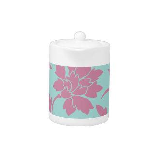 Oriental Flower - Limpet Shell Teapot