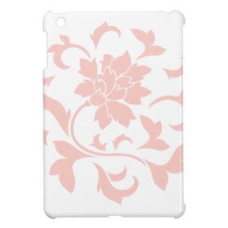 Oriental Flower - Rose Quartz Circular Pattern Cover For The iPad Mini