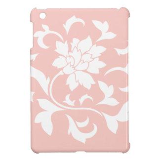 Oriental Flower - Rose Quartz Circular Pattern iPad Mini Case