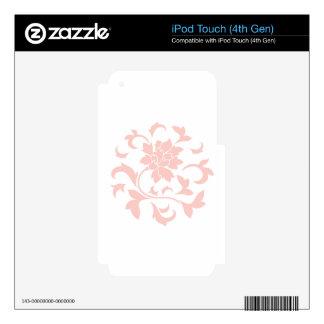 Oriental Flower - Rose Quartz Circular Pattern iPod Touch 4G Skin