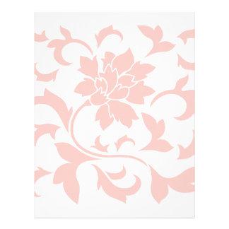Oriental Flower - Rose Quartz Letterhead