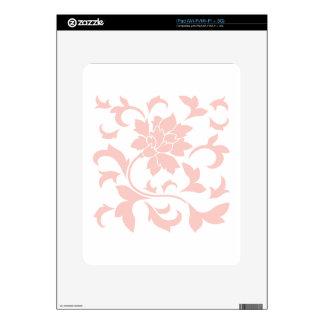 Oriental Flower - Rose Quartz Skin For The iPad