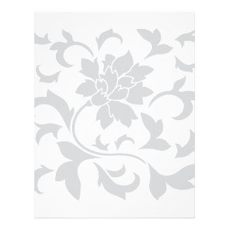 Oriental Flower - Silver Letterhead