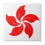 Oriental Flower Tile