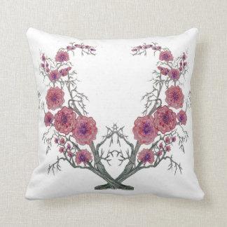 Oriental Flowers Pillow