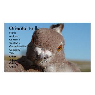 Oriental Frills Business Cards