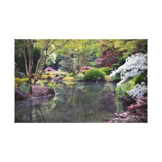 Oriental Garden Canvas Prints