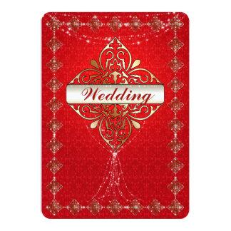 Oriental Glamour - Wedding Invitation
