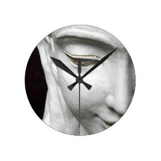 Oriental Goddess Wall Clock