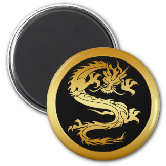 ORIENTAL GOLD DRAGON MAGNET