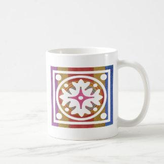 ORIENTAL GoodLuck Art - Silk Shine Surface Classic White Coffee Mug