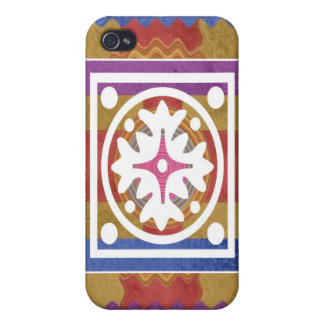 ORIENTAL GoodLuck Art - Silk Shine Surface Cases For iPhone 4