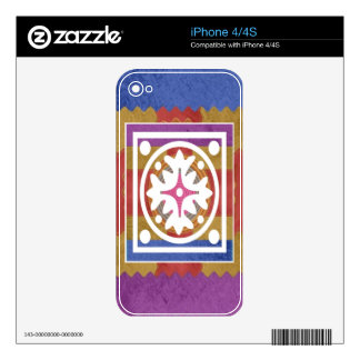 ORIENTAL GoodLuck Art - Silk Shine Surface Decal For The iPhone 4