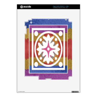 ORIENTAL GoodLuck Art - Silk Shine Surface iPad 2 Skin