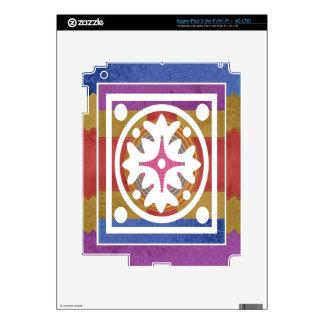 ORIENTAL GoodLuck Art - Silk Shine Surface iPad 3 Skin
