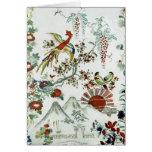 Oriental Landscape Greeting Card