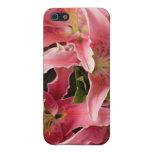 Oriental lillies iPhone 5 case
