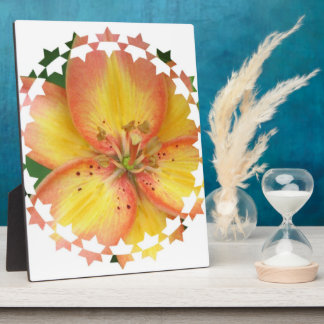 Oriental Lily Plaque