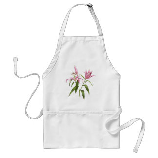 Oriental Lily - Stargazer Adult Apron