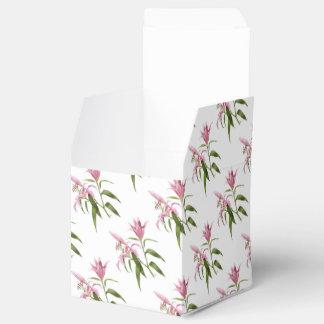 Oriental Lily - Stargazer Favor Box