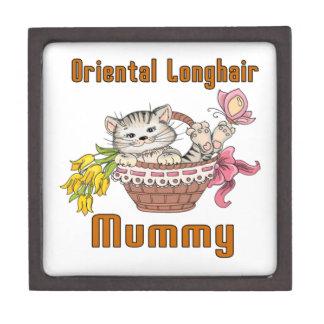 Oriental Longhair Cat Mom Gift Box