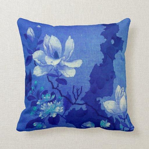 Oriental Magnolia #3 Throw Pillow