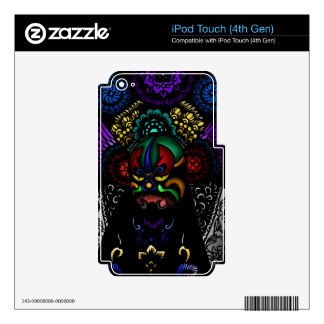 Oriental Mask Decal For iPod Touch 4G