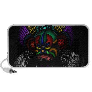 Oriental Mask Travelling Speakers