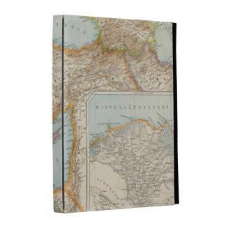 Oriental Mediterranean Map iPad Folio Covers