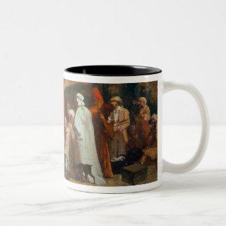 Oriental Merchants Two-Tone Coffee Mug