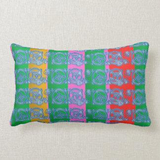 Oriental Native Leaf n GoodLuck Prints Pillow