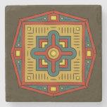 Oriental Ornament Stone Coaster
