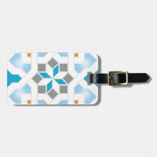 Oriental Pattern - Geometric Design Pt.2 Luggage Tag