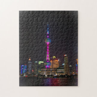 Oriental Pearl Tower - Shanghai, China Puzzle