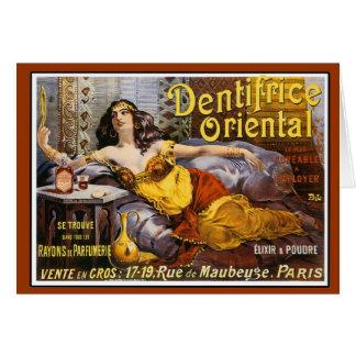 Oriental Perfume Paris France Cards