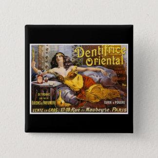 Oriental Perfume Paris France Pinback Button